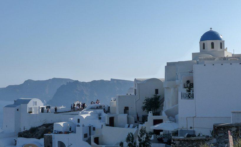 Santorini, Greece – Blue dome