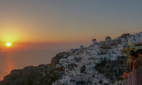 Another trip to Oia – Santorini