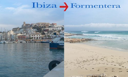 How to get to Formentera island from Ibiza Town